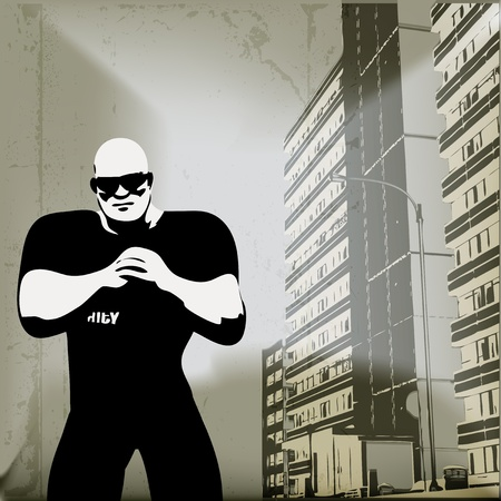 Urban Security  Vector