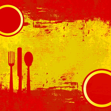 Spanish Menu Vector template