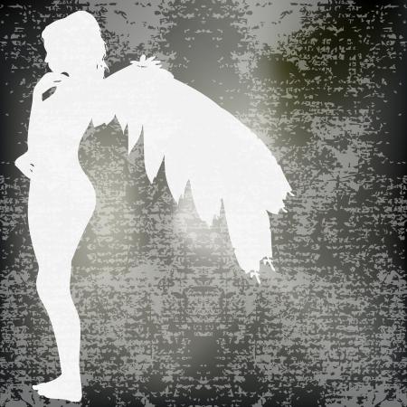 Angel Background Stock Vector - 9570581