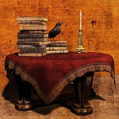 Tableau des Wizards Banque d'images