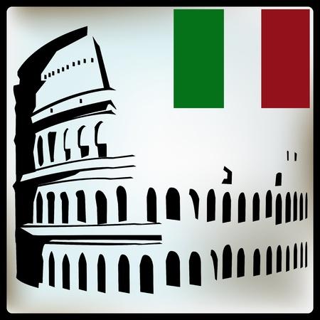 colosseo: Colosseo di fondo