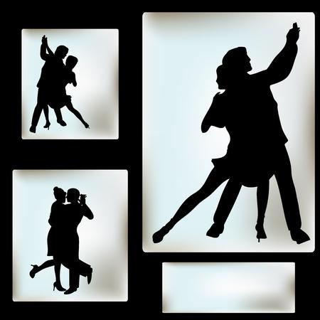 Ballroom Dance flyer, for an event or Dance School