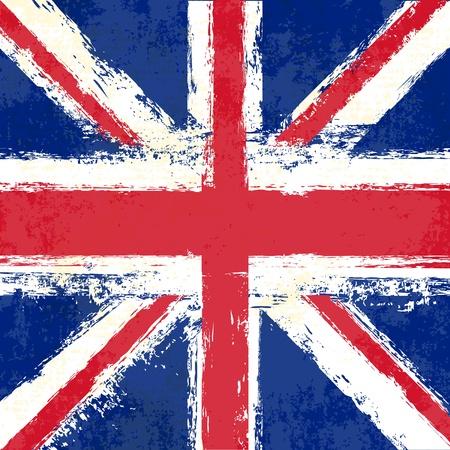 grunge union jack: Grunge Union Jack