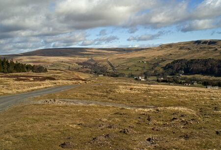 Yorkshire Dales: Moorland Road, Yorkshire Dales, UK