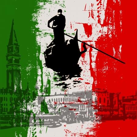 Menu Template italienne