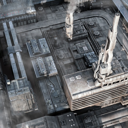 topdown: Future Industrial City