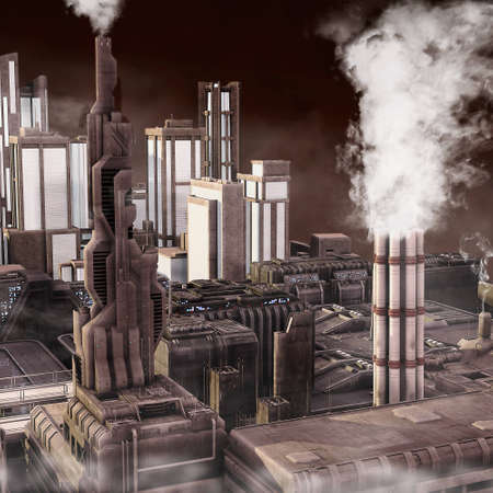 Future Industrial City  photo