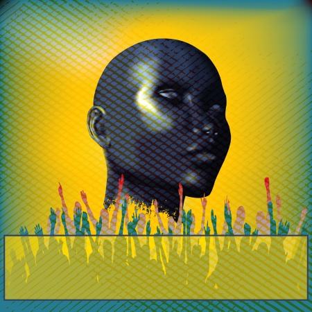 indie: Flyer para una Indie Club o DJ Set
