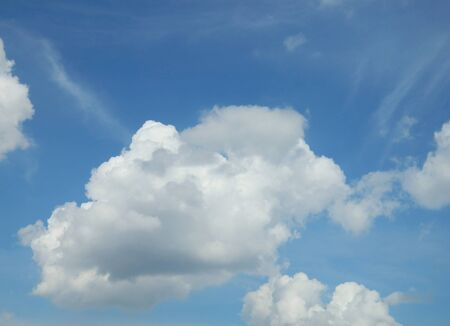 Blue sky with white clouds Stock Photo - 13293394