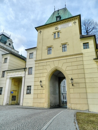 City gate in Kromeriz Stock Photo - 13865221