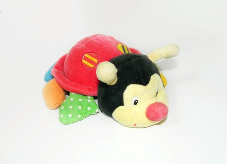 washable: Plush toy ladybird  Stock Photo