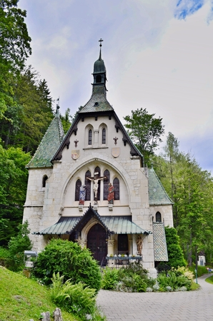 parish: Parish church of the Holy Family, Semmering