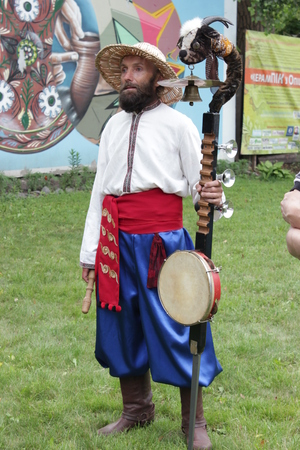 folk tales: Ukraine,  Opishnya July 2015, festival of potter craft