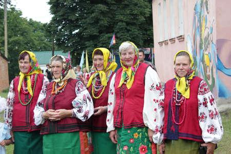 Ukrainian national clothesUkraine,  Opishnya July 2015, festival of potter craft