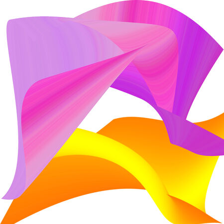 lila: Abstract backgrounds - yellow, pink, lila, purple Stock Photo