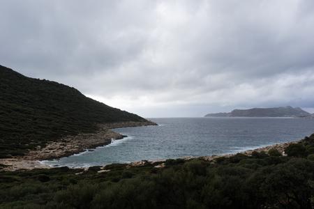 Bay in Mediterranean sea
