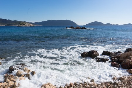 Mediterranean sea waves
