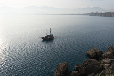 Antalya, view to mediterranean sea