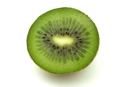 Kiwi on white photo