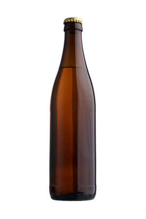 beer bottle: Beer bottle with clupping path Stock Photo