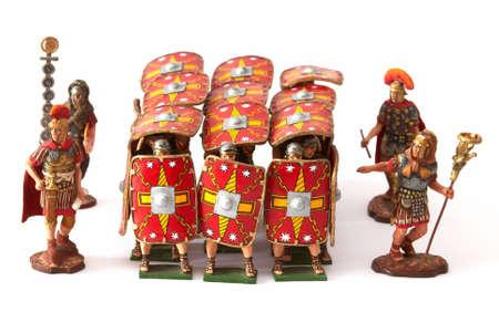 phalanx: Roman combat phalanx - a tinny small soldiers