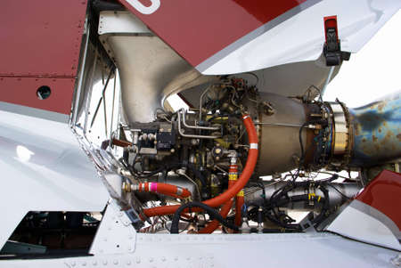 Helicopter engine Stock Photo - 2860365