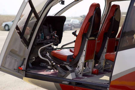 Helicopter cabin photo