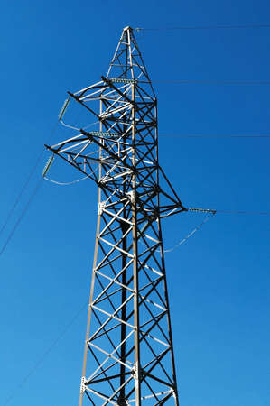 Steel electric pole Stock Photo - 3435557