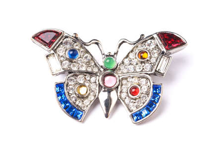 nicety: Silver butterfly