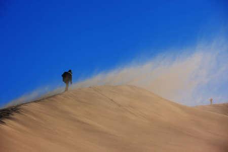 desert storm: La tormenta del desierto y el viajero solitario dos