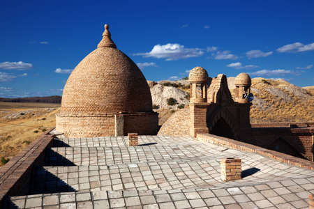 Detail of arabian architecture in Kazakhstan photo