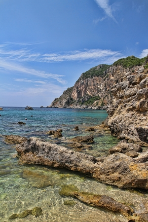 paleokastritsa: Greek coast