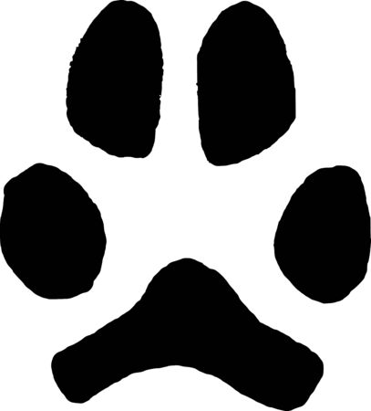 imprint: Imprint dog paw