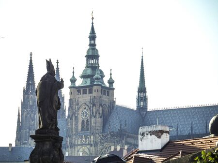 vitus: St. Vitus Cathedral Charles Bridge Prague Czech Republic
