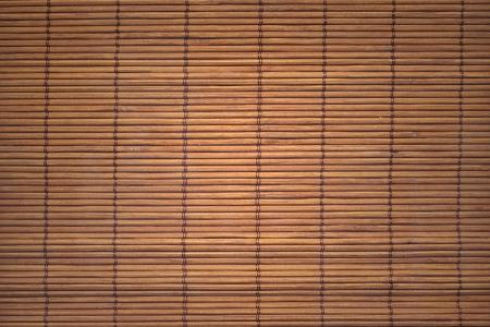 Bamboo mat background. The asian mat from yellow bamboo Stock Photo - 14518111