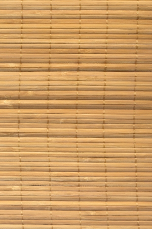 The asian mat from yellow bamboo. Wood texture Stock Photo - 14518110