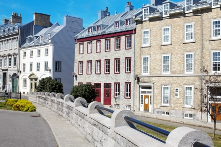 Beautiful apartment houses in the large city Stock Photo - 17217394