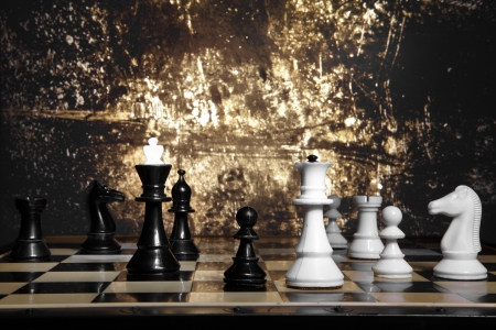 bandwagon: To move the queen. Game of chess