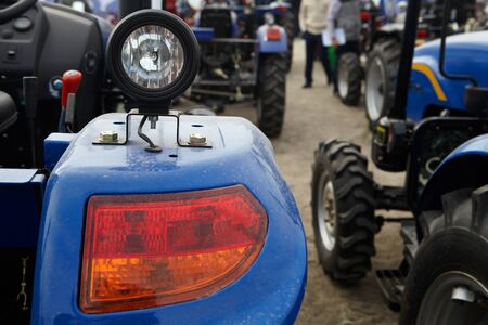 Agricultural tractor and its parts. Business and agriculture