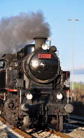 steam locomotives: Steam locomotives Stock Photo