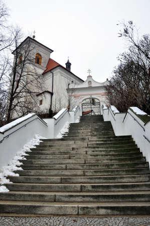 republik: church - city Brno,the Czech Republik