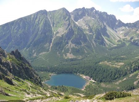 mountains - High Tatras,lake Poprad, Slovakia Reklamní fotografie