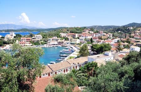 Town Kassiopi, Corfu Island, Greece