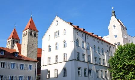 regensburg: Old town of Regensburg, Germany