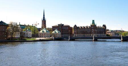 uitzicht van Stockholm, Zweden, Scandinavie