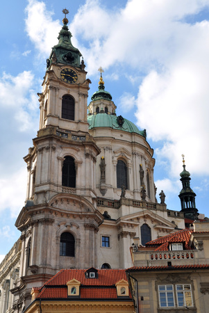 St  Nicholas Church, Prague, Czech Republic photo