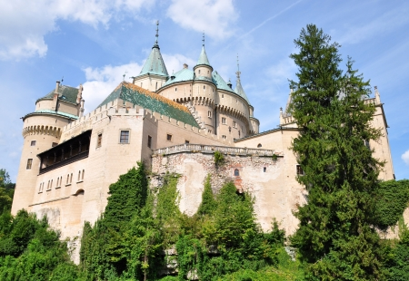 Bojnice Castle, Slovakia, Europe Redakční