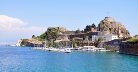 Old Fortress in Corfu Town, Greece, Europe