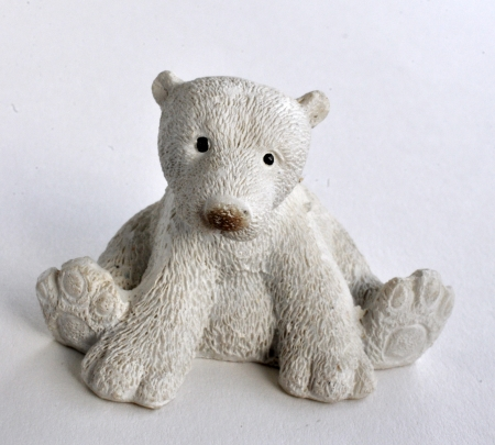 toy polar bear photo