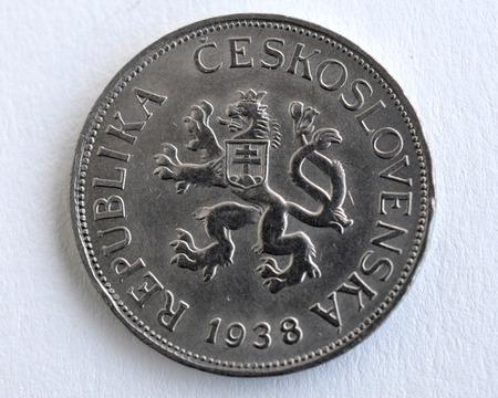 czechoslovak: the old Czechoslovak coins
